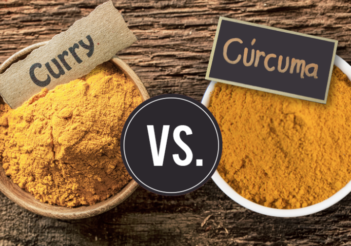 ¿es lo mismo el curry y la cúrcuma?