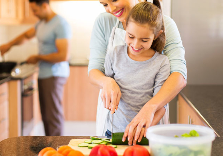 Las fiestas son para ¡cocinar en familia!